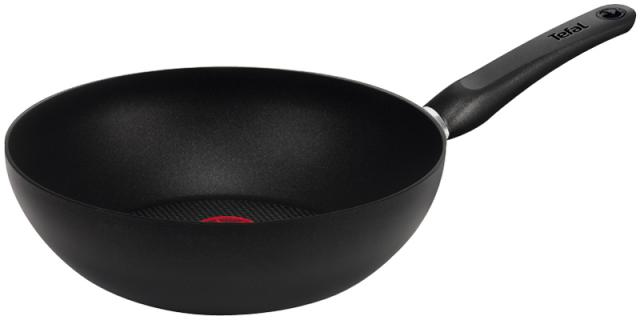 tefal pro style wok mit induktion 28 cm wokpfanne teflon pfanne topf neu ebay. Black Bedroom Furniture Sets. Home Design Ideas