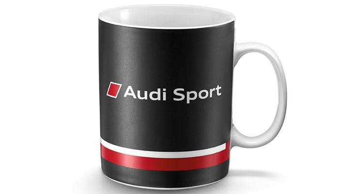 2 audi sport tasse matt kaffeetasse kaffeebecher becher sammler s line tassen ebay. Black Bedroom Furniture Sets. Home Design Ideas