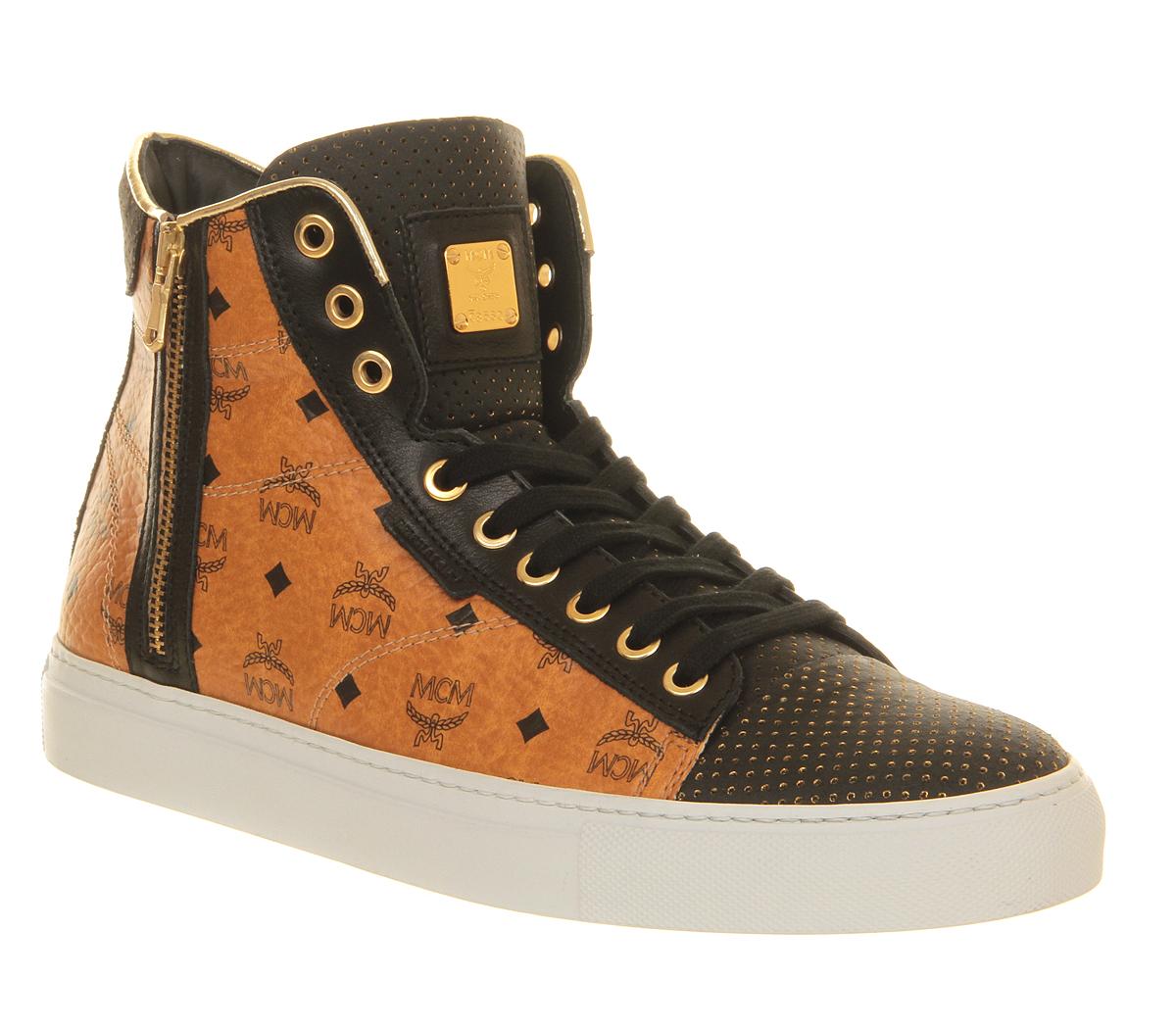 mcm michalsky urban nomad iii high cognac schuhe sneakers. Black Bedroom Furniture Sets. Home Design Ideas