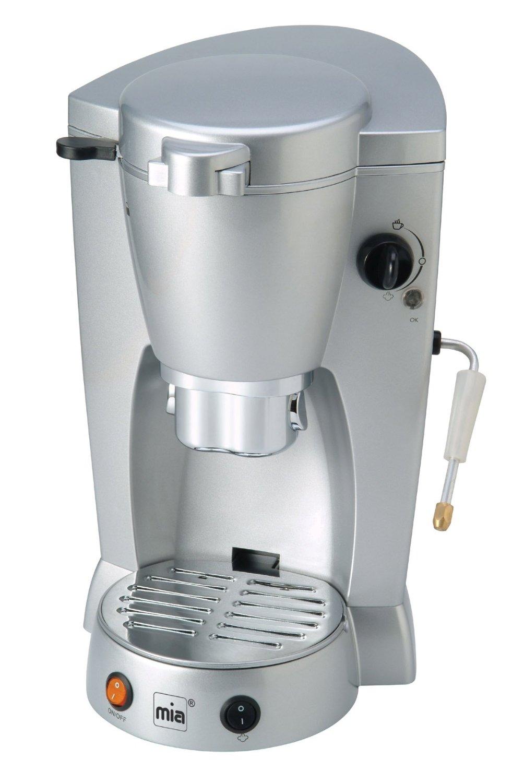 kaffeepad automat f r alle pads kaffeeautomat kaffeemaschine padautomat silber ebay. Black Bedroom Furniture Sets. Home Design Ideas