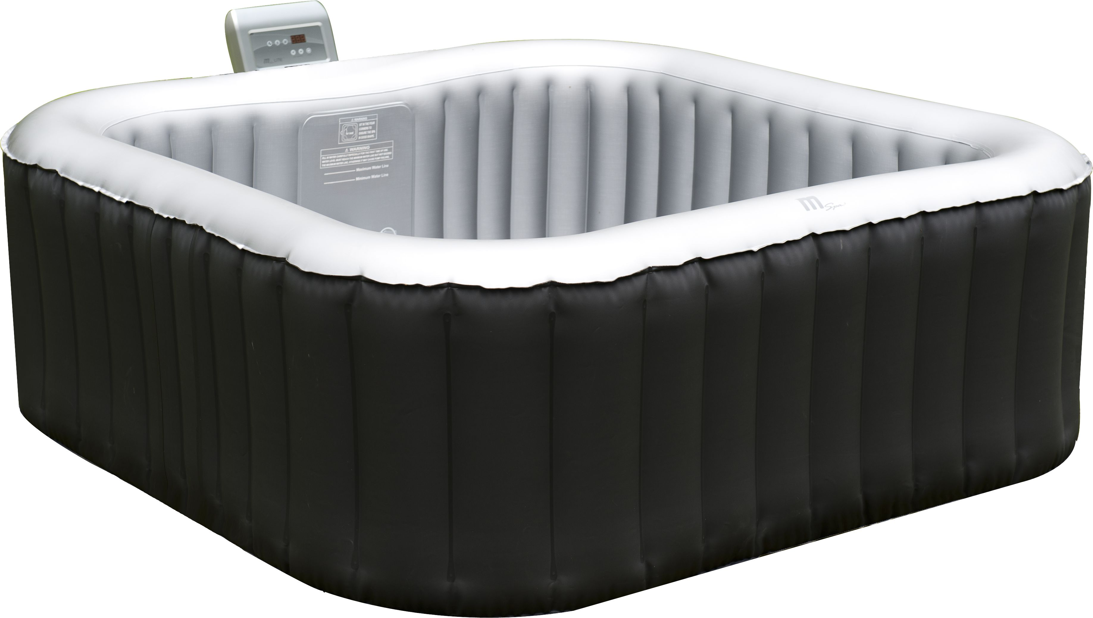 whirlpool f r 4 personen aufblasbar indoor outdoor jacuzzi massage pool heizung ebay. Black Bedroom Furniture Sets. Home Design Ideas