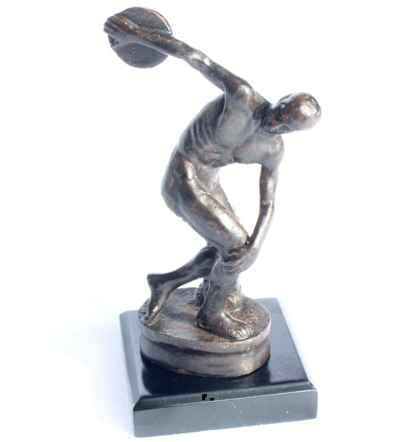 Antike Bronze Skulptur Antiquitäten & Kunst