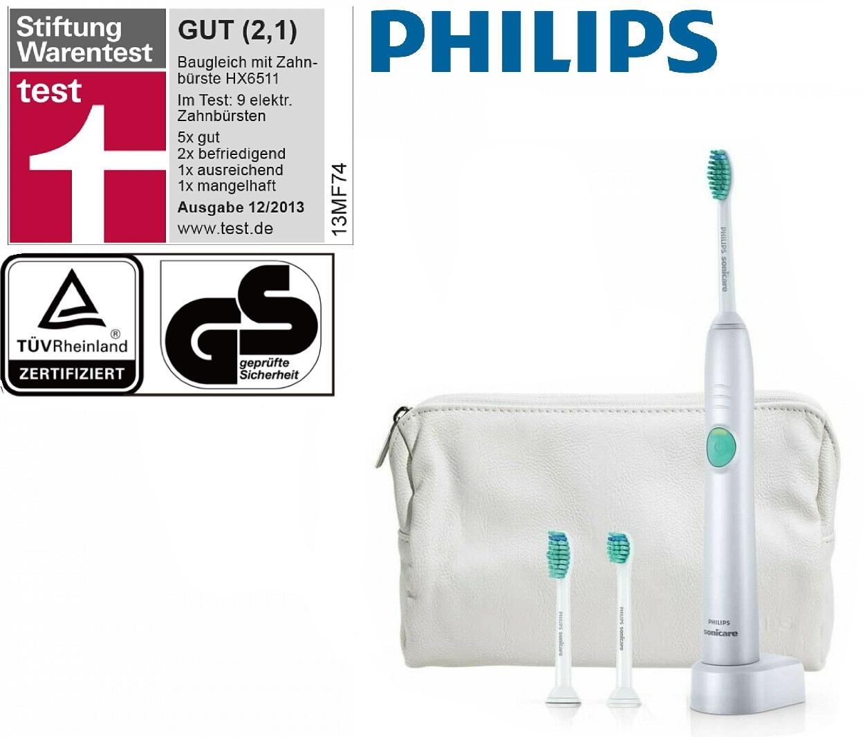 Philips Sonicare Easyclean Elektrische Zahnburste 3 Bursten Schallzahnburste Ebay
