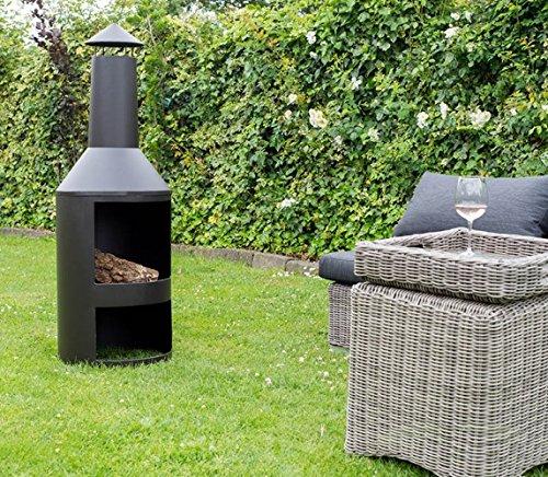 "FireStove /""Ming/"" Terassenofen Feuerstelle Ø45x135 Feuerofen Kamin Garten Ofen"