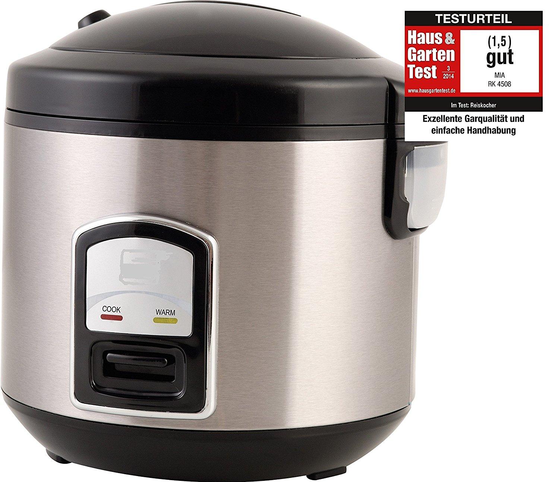 PerfectCook 3in1 elektrischer Reiskocher Dampfgarer  Funktion Reis Kocher