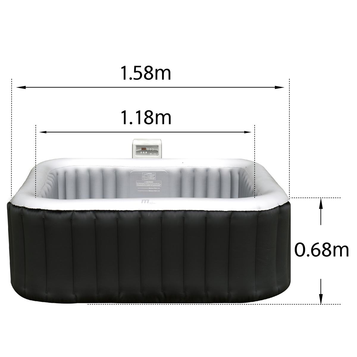 whirlpool defekt gebraucht aufblasbar beheizt massage pool heizung ebay. Black Bedroom Furniture Sets. Home Design Ideas